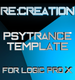 Re:Creation PsyTrance Template for Logic Pro X Now Available
